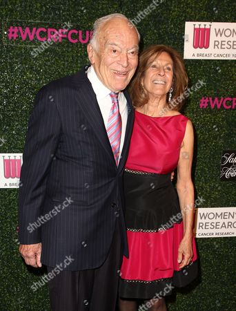 Stock Image of Leonard Lauder and Evelyn Lauder