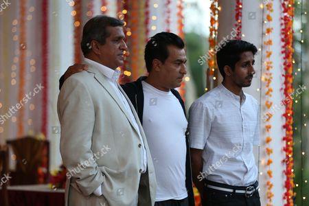 Darshan Jariwalla as Dr Ram Nair, Deepak Verma as Varun Kapoor and Sagar Radia as AJ Nair