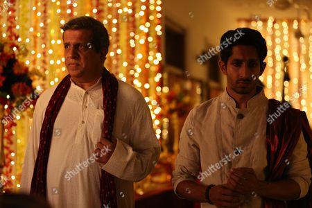 Darshan Jariwalla as Dr Ram Nair and Sagar Radia as AJ Nair