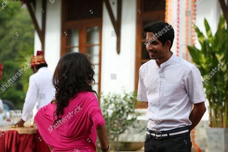 Aashita as Samira Kapoor and Sagar Radia as AJ Nair