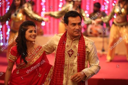 Stock Picture of Aashita as Samira Kapoor and Deepak Verma as Varun Kapoor