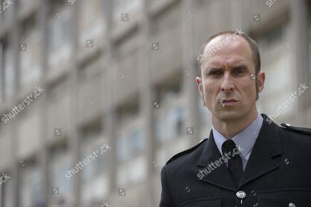'Prime Suspect 1973' - Andrew Brooke as Sergeant Harris.