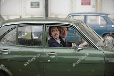 'Prime Suspect 1973' - Blake Harrison as DS Spencer Gibbs and Joshua Hill as DC Edwards.