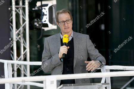 Stock Image of Florian Koenig - RTL Reporter