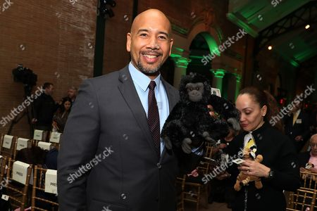 Bronx Borough President Ruben Diaz Jr. attends the screening of Animal Planet's new series 'The Zoo' at The Bronx Zoo, in New York