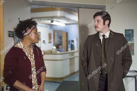 'Prime Suspect 1973' (Episode 2) - Tommy McDonnell as DC Hudson and Franc Ashman as Teresa O'Duncie.