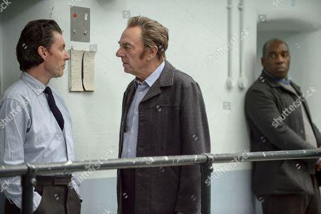 'Prime Suspect 1973' (Episode 2) - Alun Armstrong as John Bentley and Dorian Lough as Clay Bateman.