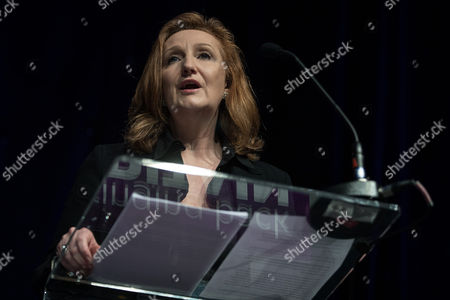 Suzanne Evans, Health Spokesman, speaks at the conference. The UKIP Spring Conference at the Macron Stadium.