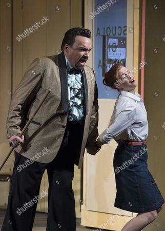 Henry Waddington as Don Magnifico,Wallis Giunta as Angelina