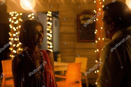 Achint Kaur as Mala Pandip and Darshan Jariwalla as Dr Ram Nair