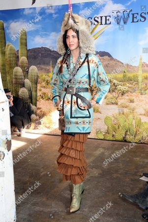 Editorial picture of Jessie Western show Autumn Winter 2017, London Fashion Week, UK - 17 Feb 2017