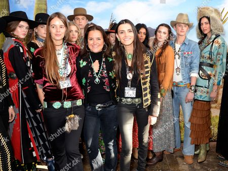Vicky Western, Jessie Western and models