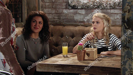 Mel Maguire, as played by Sonia Ibrahim,warns Bethany Pltt, as played by Lucy Fallon, that the last thing Nathan would want is for her to get pregnant and she should consider having a contraceptive implant. (Ep 9112 - Wed 1 Mar 2017)