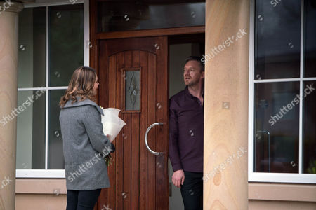 Having followed Tracy Barlow, as played by Kate Ford, to Ronan Truman's, as played by Colin Tierney, house Adam Barlow, as played by Sam Robertson, is ushered inside, while Ronan shuts the door on a bemused Tracy. As Ronan demands to know where his money is, Adam's forced to reveal that it was burnt. Will Adam find himself on the receiving end of Ronan's fury? (Ep 9119 - Fri 10 2017)