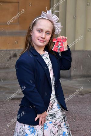 Editorial image of Investiture at Buckingham Palace, London, UK - 17 Feb 2017