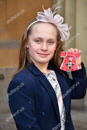 Stock Photo of Eleanor Robinson MBE