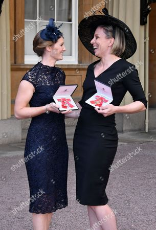 Helen Richardson-Walsh MBE, Kate Richardson-Walsh OBE