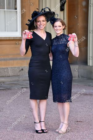 Kate Richardson-Walsh OBE, Helen Richardson-Walsh MBE