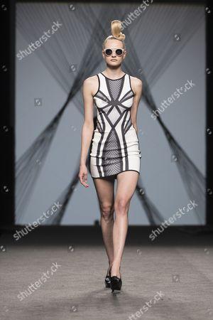 Editorial image of Maya Hansen show, Runway, Autumn Winter 2017, Mercedes Benz Fashion Week, Madrid, Spain - 17 Feb 2017
