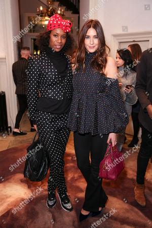 Stock Image of Aicha McKenzie and Lisa Snowdon