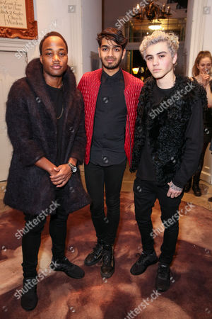 Leon Thomas III, Richi Mehta and Sam Pottorff