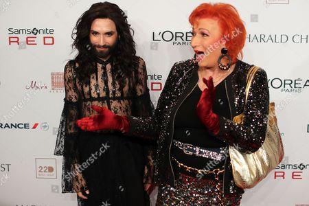 Conchita Wurst and Zazie de Paris