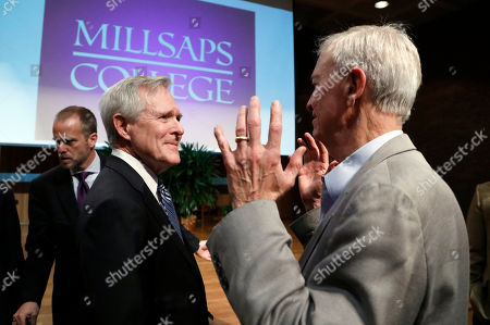 Editorial image of Mississippi Mabus Speech, Jackson, USA - 17 Feb 2017