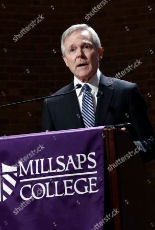 Editorial picture of Mississippi Mabus Speech, Jackson, USA - 17 Feb 2017