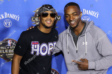 Percy Romeo Miller Jnr and Anthony Mackie