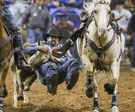 Gary Gilbert during the Silver Spurs Rodeo at Osceola Heritage Park in Kissimmee, Florida