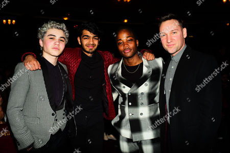 Sam Pottorff, Leon Thomas & Rishi Mehta with Dudley Neville