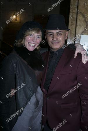 Anna Winslet and Stuart Watts