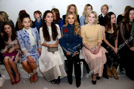 Isobelle Molloy, Ella Eyre, Jasmine Thompson, Chloe Lloyd, Lucy Boynton