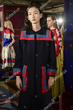 Editorial picture of Sadie Williams presentation, Autumn Winter 2017, London Fashion Week, UK - 17 Feb 2017