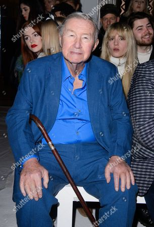 Sir Terence Conran in the front row