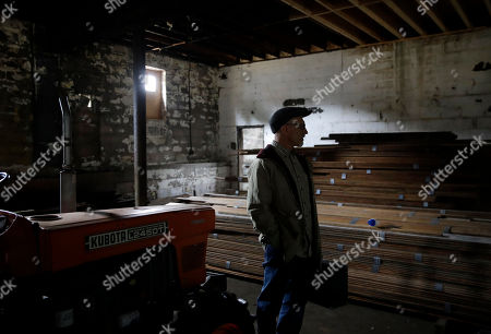 Stock Image of Author Ed Maliskas stands near where a stage once stood inside a long-shuttered dance hall in Dargan, Md. The structure, built by an African-American fraternal organization, hosted dozens of black performers including James Brown, Ray Charles, Etta James and Otis Redding during the racially segregated 1950s and early '60s on the same property as the house where abolitionist John Brown launched his ill-fated, 1859 seizure of a federal armory in nearby Harpers Ferry, W.Va