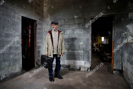 Author Ed Maliskas stands in the performers' dressing room of a dance hall in Dargan, Md., that hosted dozens of black performers including James Brown, Ray Charles, Etta James and Otis Redding during the racially segregated 1950s and early '60s. The hall stands on the same property as the house where abolitionist John Brown launched his 1859 seizure of a federal armory. The Black Elks, the African-American fraternal organization that built the dance hall, sold the Maryland property in 1966, seven months after James Brown starred in the final show