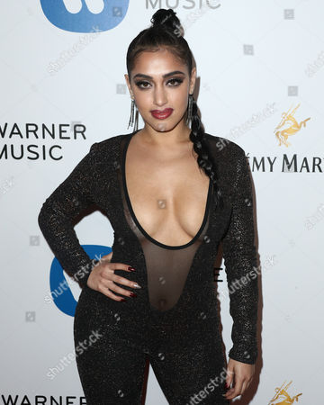 Editorial image of Warner Music Group Grammy After Party, Arrivals, Los Angeles, USA - 12 Feb 2017