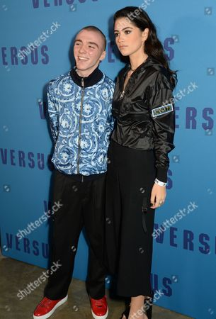 Rocco Ritchie and Kim Turnbull