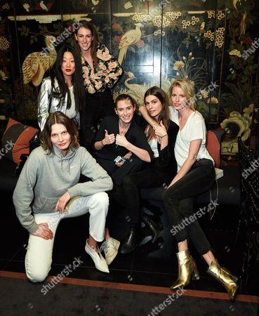 Michelle Lu, Mary Winckler, Victoria Sekrier, Helena Tejedor, Caroline Winberg
