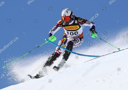 Editorial photo of Alpine Skiing Worlds, St. Moritz, Switzerland - 19 Feb 2017