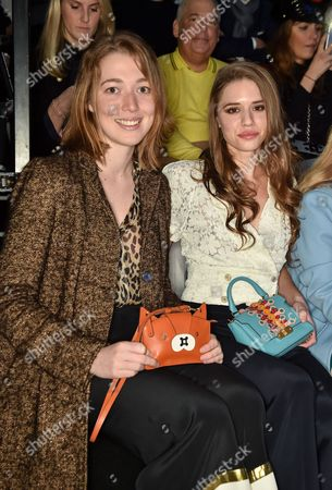Angelica Hicks and Alessandra Balazs in the front row