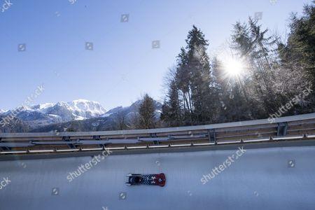Editorial photo of Bobsleigh World Championships in Koenigssee, Schoenau Am Koenigssee, Germany - 19 Feb 2017