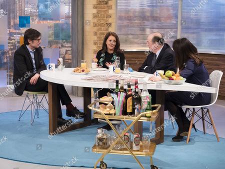 Robert Peston, Lucy Porter, Sir Nicholas Soames MP and Liz Kendall MP