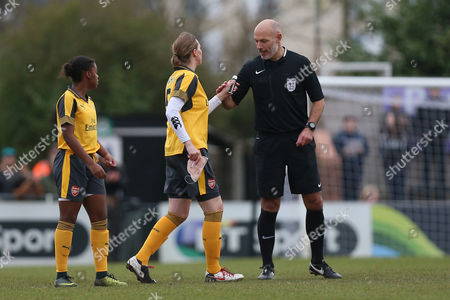 Editorial image of Arsenal Ladies vs Kelly Smith's All Star XI, Kelly Smith's Celebration Match, Football, Meadow Park, Borehamwood, Hertfordshire, United Kingdom - 19 Feb 2017