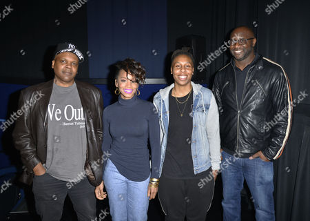 Stock Photo of Reggie Rock Bythewood, Anika Noni Rose, Lena Waithe, Roger Bob
