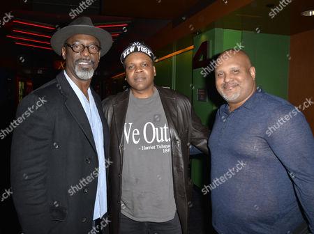 Stock Picture of Isaiah Washington, Reggie Rock Bythewood, Paul Garnes