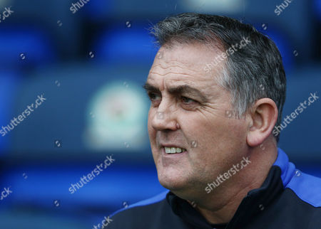 Stock Photo of Blackburn Rovers manager Owen Coyle during the Emirates FA Cup 5th Round match between Blackburn Rovers and Manchester United played at Ewood Park, Blackburn, on 19th February 2017