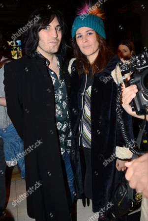 Stock Picture of Noel Fielding and Lliana Bird in the front row