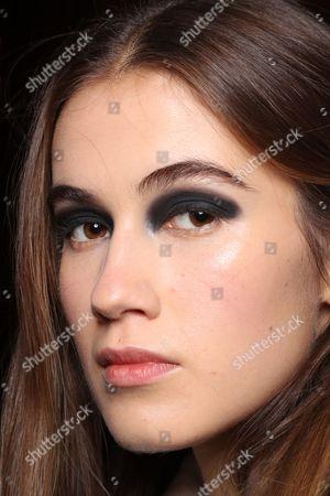 Stock Photo of Model backstage
